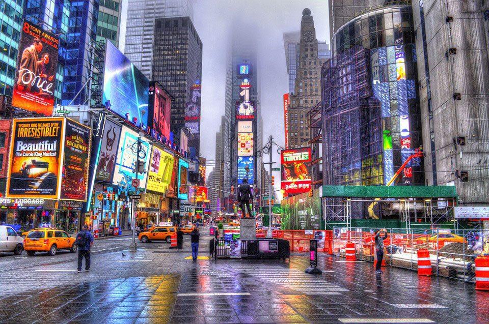 Scintillante New York !