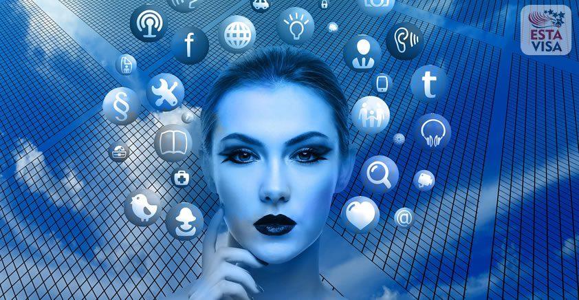 Formulaire ESTA: Dois-je partager mes identifiants de réseaux sociaux?