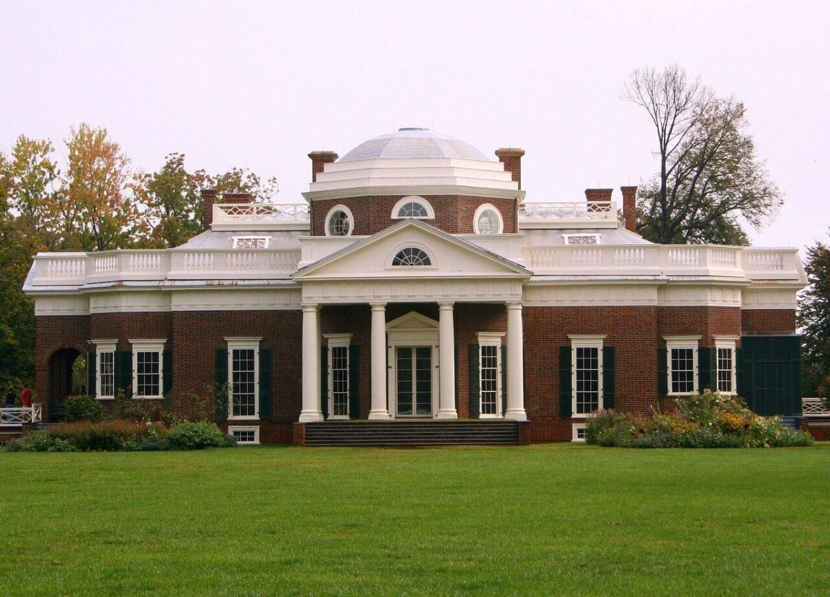 Monticello en Virginia