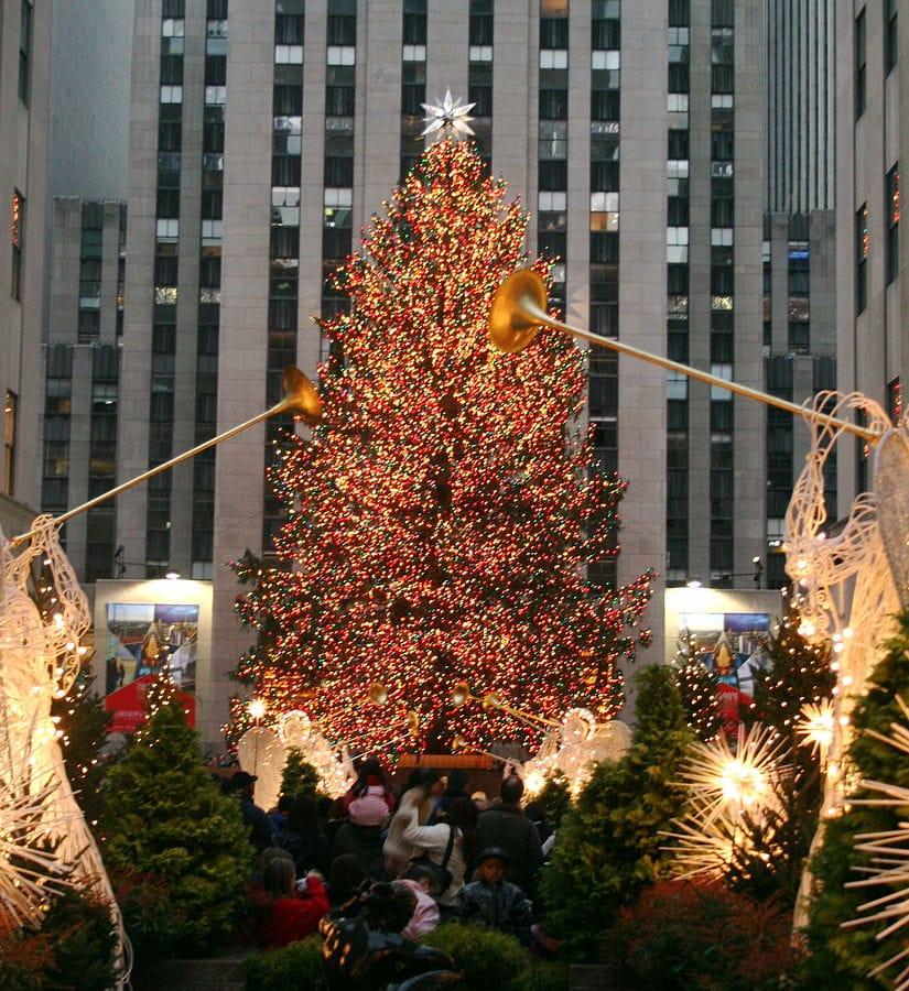 Rockefeller arbre de noel