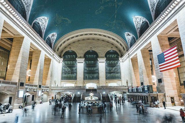 voyager en train Etats-Unis