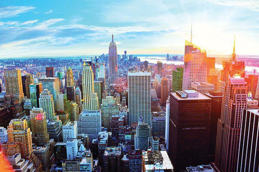 esta pour New york