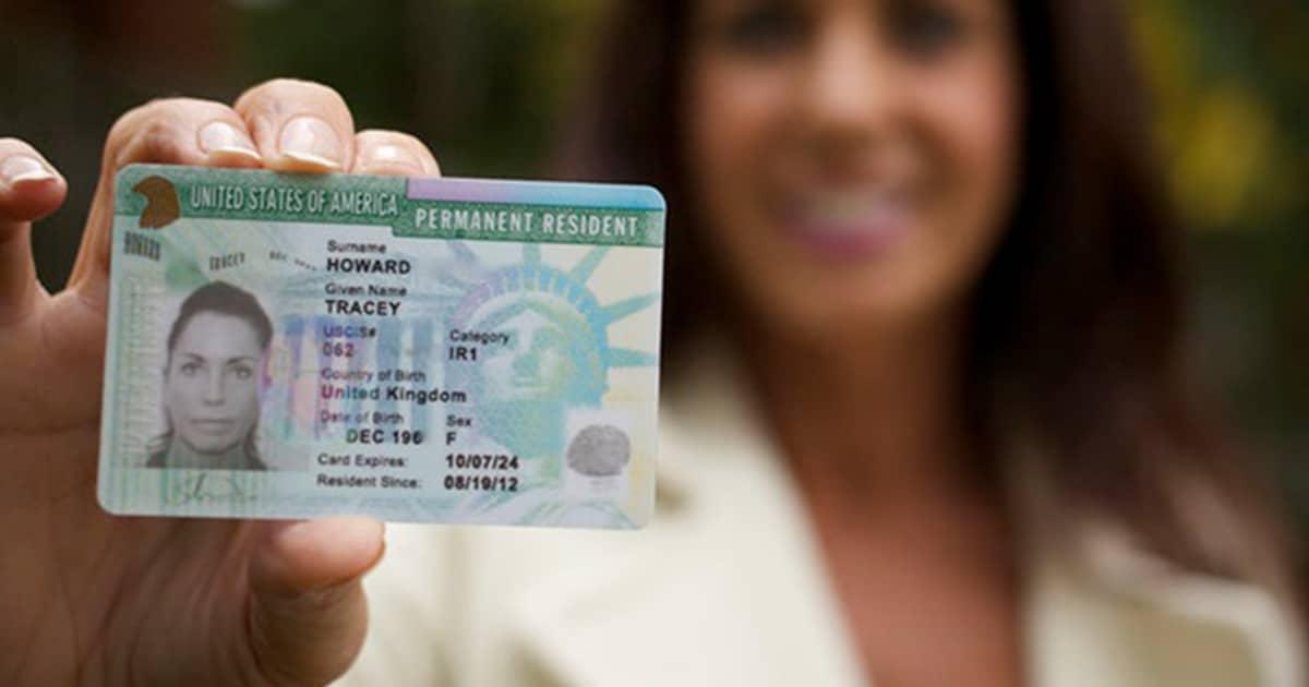 Green Card, carte verte USA